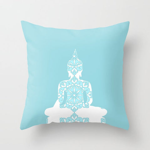 Buddha on Cushion Cover