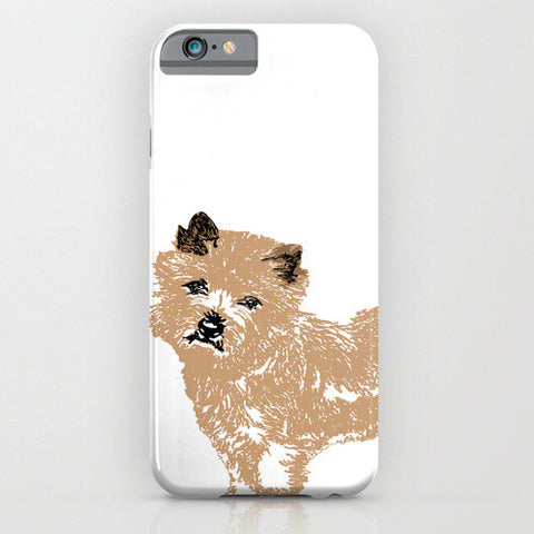 Cairn Terrier Dog On Phone Case