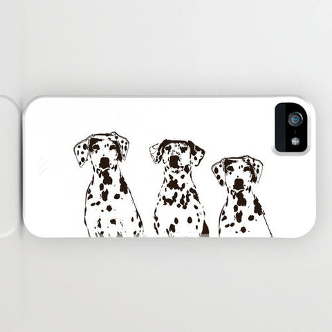 Three Dalmatians On Phone Case