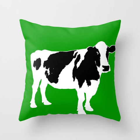 Farm Cow on Cushion Cover