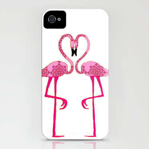 Two Flamingos On Phone Case