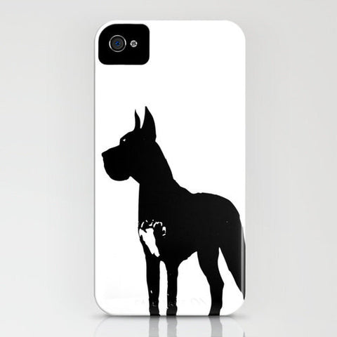 Great Dane Dog On Phone Case