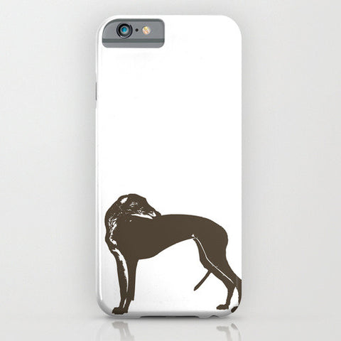 Greyhound Dog on Phone Case