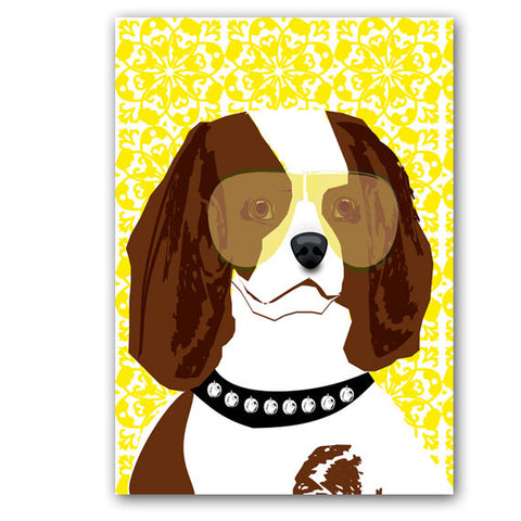 Cavalier King Charles Spaniel Dog Art Print