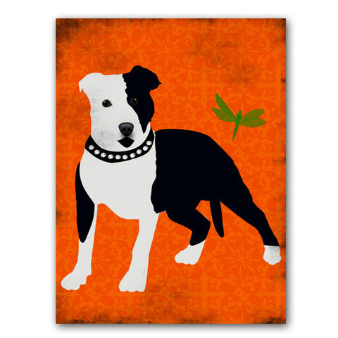 Staffordshire Bull Terrier Dog Art Print