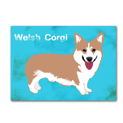 Pembroke Welsh Corgi Dog Art Print