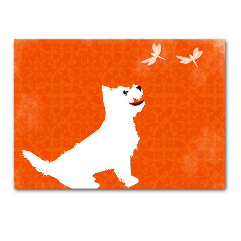West Highland Terrier Dog Art Print