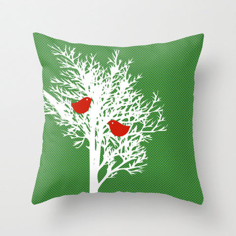 Winter Tree on Cushion Cover