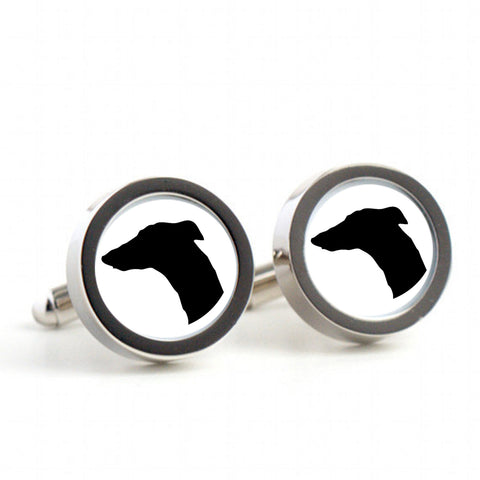 Dog Cufflinks -  Mens cufflinks, cufflinks for Dad, Husband, Weddings, novelty cufflinks