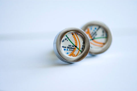 Subway Map Cufflinks.Cufflinks Ialbert