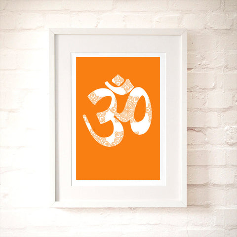OM Symbol for Yoga Art