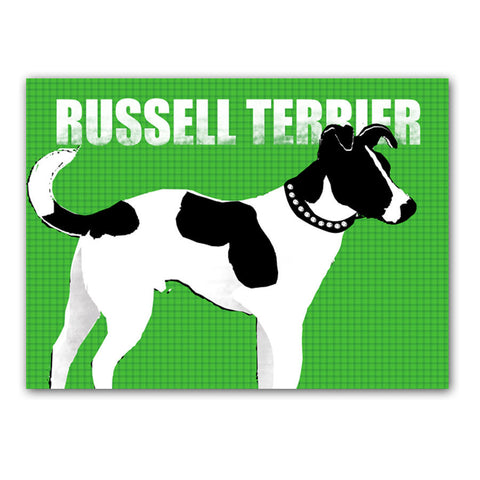 Jack Russell Terrier Dog Art Print