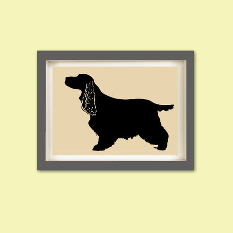 Cocker Spaniel Dog Art Print