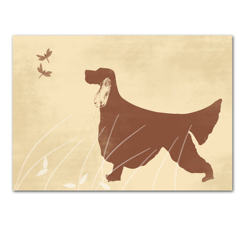 Irish Setter Dog Art - Wall art, english setter print, Dog breed, setters