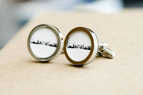 London Skyline on Cufflinks