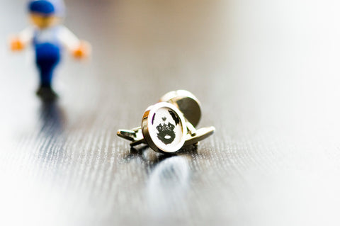 Pug Dog on your cufflinks