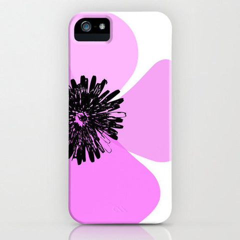 Purple Poppy Flower on your Phone Case