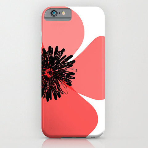 Red Poppy Flower on your Phone Case