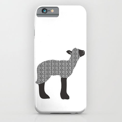 Black sheep on Phone Case