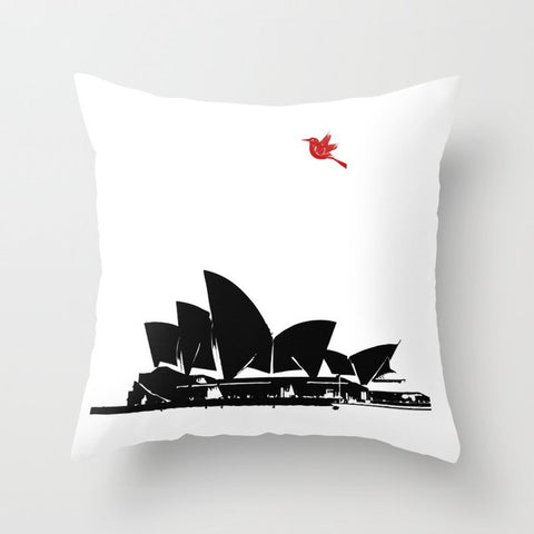 Sydney opera house On Cushion Cover