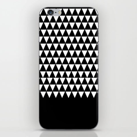 Geometric Patterns Triangles on the Phone Case