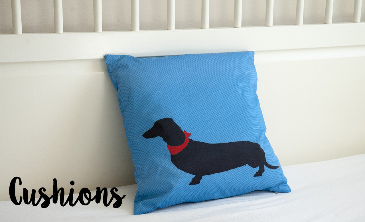decorative cushions, pillows, dog cushions