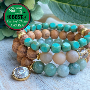 The Austin Bracelet Co. wins a spot in the 10 Best of Reader's Choice Awards in Natural Nutmeg Magazine