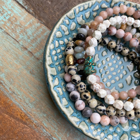Gemstone Stacking Bracelets