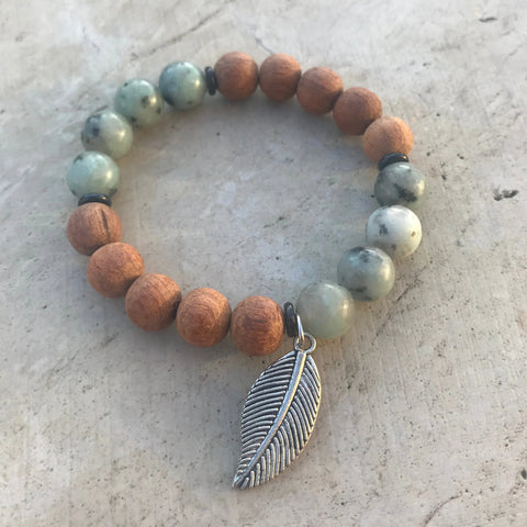 Jasper Diffuser Bracelet from The Austin Bracelet Co.