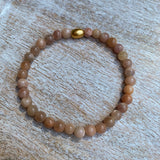 Mini Gemstone Stackers | Sunstone Bracelet
