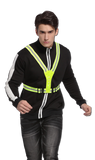 Reflective LED Running Vest Rechargeable