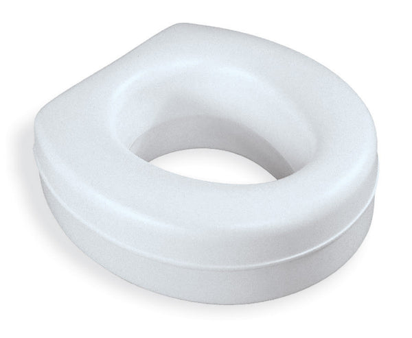 Contoured Plastic Raised Toilet Seat [CASE of 3]
