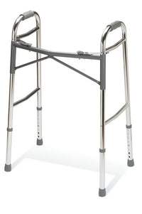 Heavy-Duty Two-Button Folding Walkers, inside width 16.5 inch