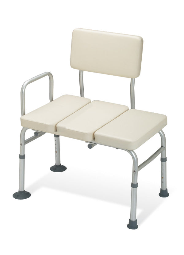 Padded Transfer Benches, Aluminum