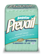 Prevail Dri-Bed Super Compressed Fluff Underpads