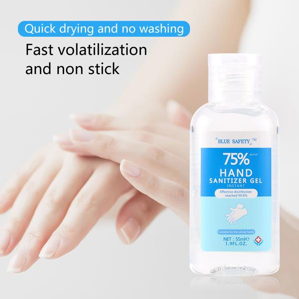 75% Alcohol Hand Sanitizer Gel Instant Disinfectant