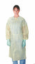 Polypropylene Isolation  Gowns, Yellow [50CT/CASE]