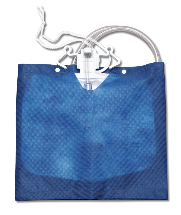 Urinary Drain Bag Covers, Blue
