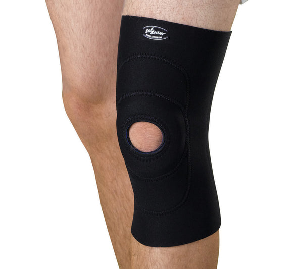 Knee Supports with Round Buttress