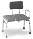 Aluminum Padded Transfer Bench