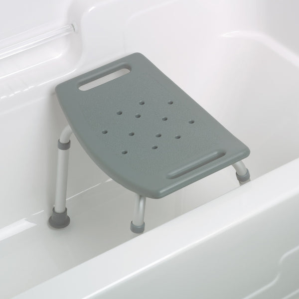 Bath Bench without Back - Aluminum