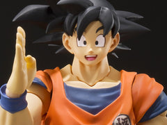 Pre-Order Dragon Ball Z S.H.Figuarts Goku (A Saiyan Raised On Earth)