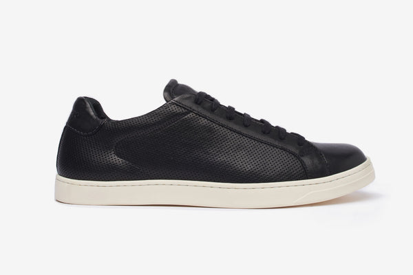 The Sorby Perforated Long Lace Trainer