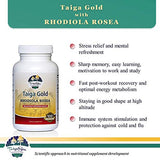 Taiga Gold Rhodiola Rosea - Wild Herbal Extract Blend from Siberian Taiga for Mental Refreshment, Natural Stress Relief, Immunity Boost and Post Workout Recovery, 100 Vegetarian Capsules - Terramed.info
