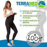 Terramed Maternity Leggings Active Wear Over The Bump Pants Pregnancy Shaping Over The Belly - Terramed.info
