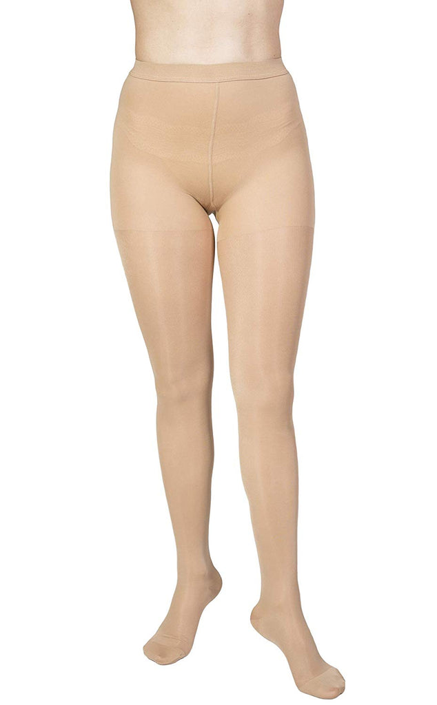 Graduated  Therapeutic Compression Pantyhose Stockings Sheer Firm - Terramed.info