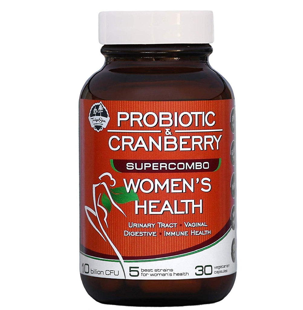 10 Billion Probiotics for Women with Cranberry, 5 Proven Strains for Urinary Tract and Vaginal Health and Yeast Control, Daily Digestive and Immune Support, Non Refrigerated Probiotic Supplement - Terramed.info