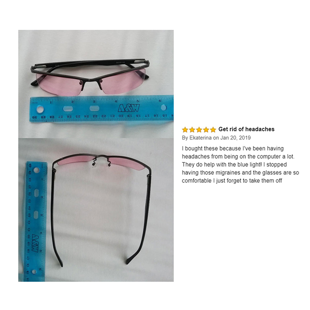 Terramed Eagle Unisex Migraine Glasses for Migraine Relief and Light Sensitivity Relief - Terramed.info