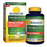 RENEW LIFE STRONG & READY PROBIOTICS + ORGANIC PREBIOTICS - Terramed.info