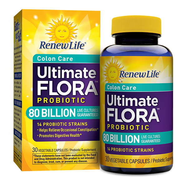 ULTIMATE FLORA COLON CARE PROBIOTIC 80 BILLION - Terramed.info